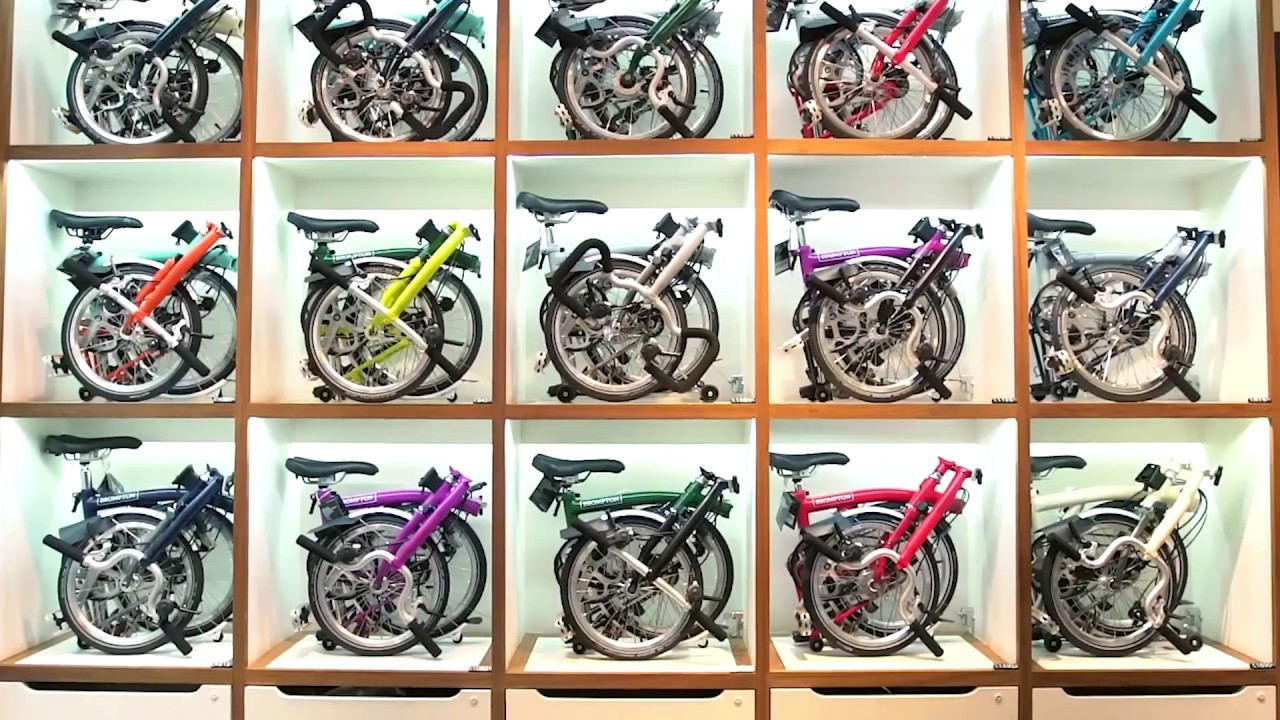 Brompton Folding Bicycle: Production Process