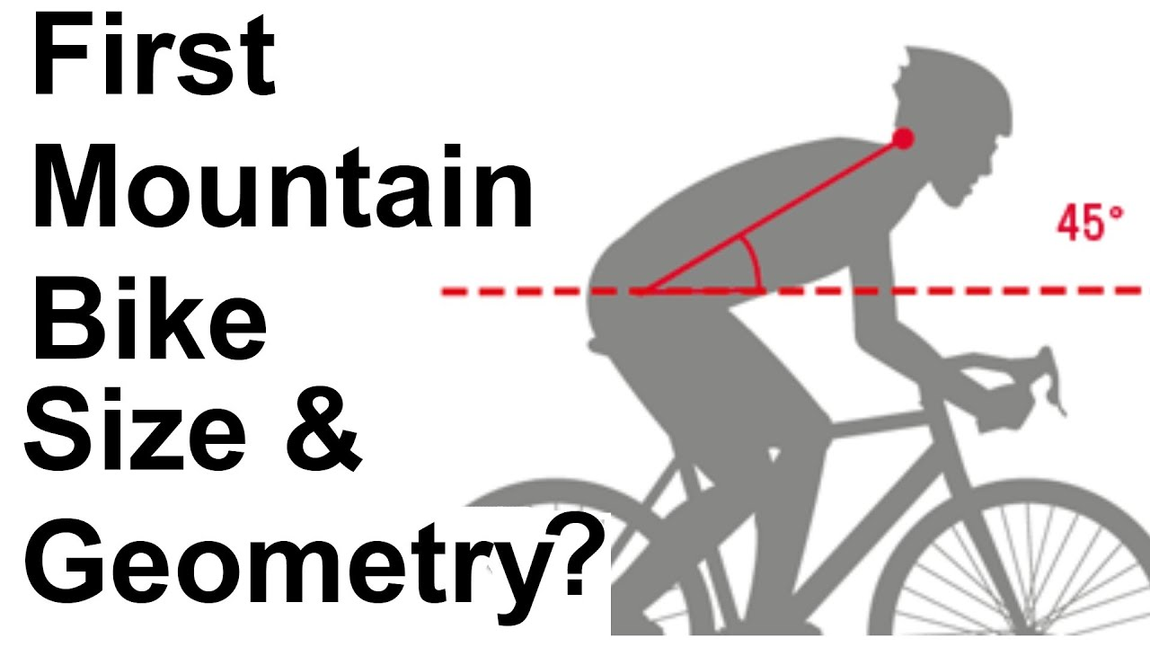 Buying your first XC Mountain Bike Size and Geometry