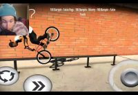 CANT BELIEVE I LANDED THIS! BMX STREETS MOBILE!