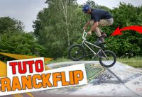 COMMENT FAIRE UN CRANKFLIP EN BMX ? - TUTO EXPRESS DEBUTANT - HOW TO CRANKFLIP ON BMX ?