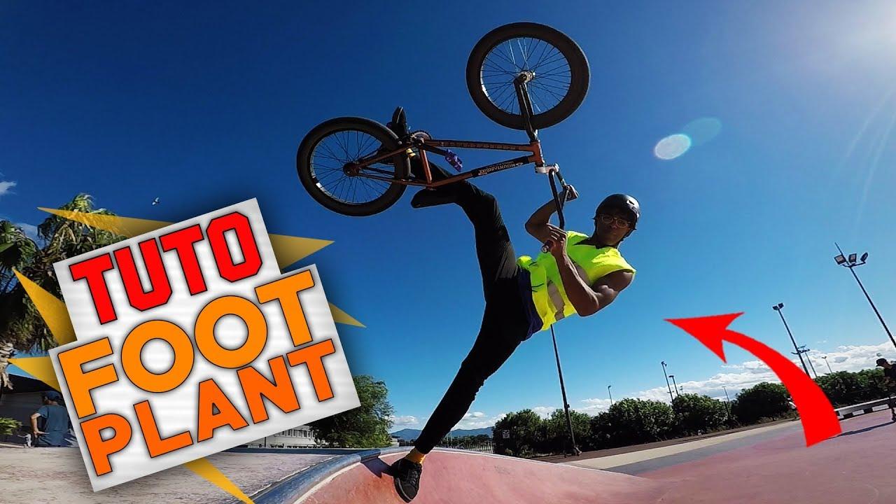 COMMENT FAIRE UN FOOTPLANT EN BMX - TUTO EXPRESS DEBUTANT