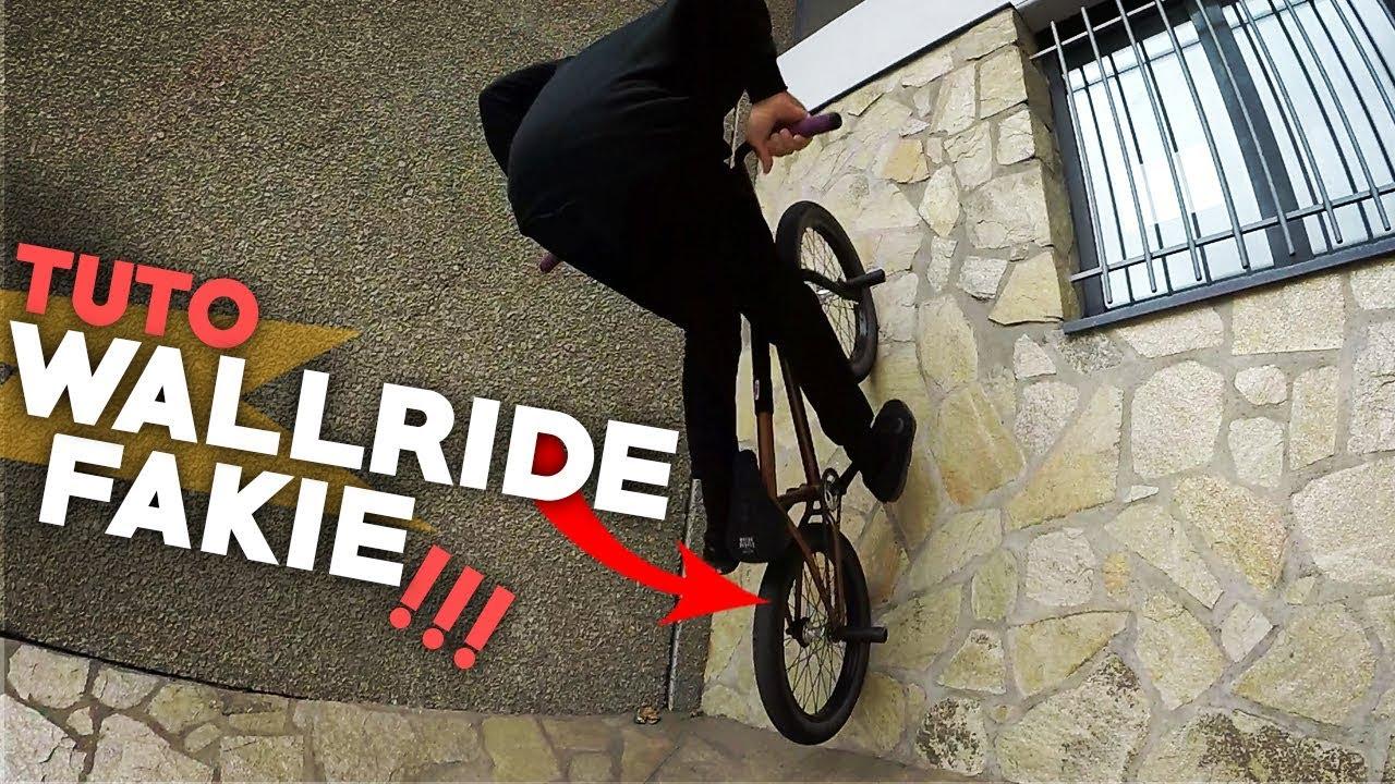 COMMENT FAIRE UN WALLRIDE FAKIE EN BMX ? - TUTO EXPRESS BMX - HOW TO WALLRIDE FAKIE ON BMX ?