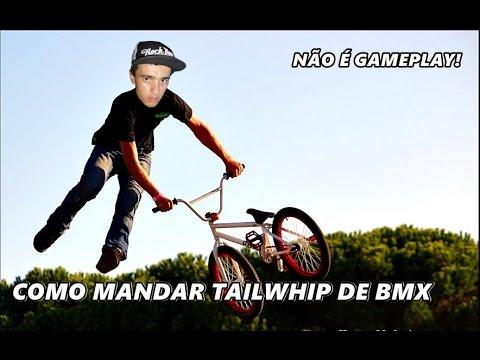 COMO eu aprendi MANDAR TAIL WHIP DE BMX