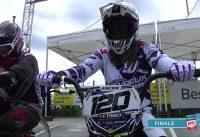 COUPE DE FRANCE BMX Besançon finale Elite femme 4eme manche
