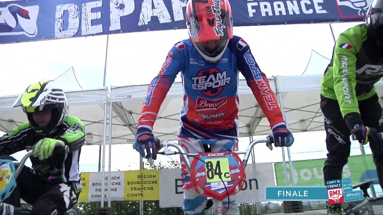 COUPE DE FRANCE BMX Besançon finale homme 4eme manche