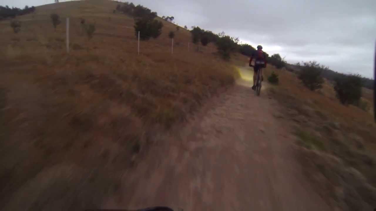 Canberra Centenary Trail mountain biking - Hall to near Forde