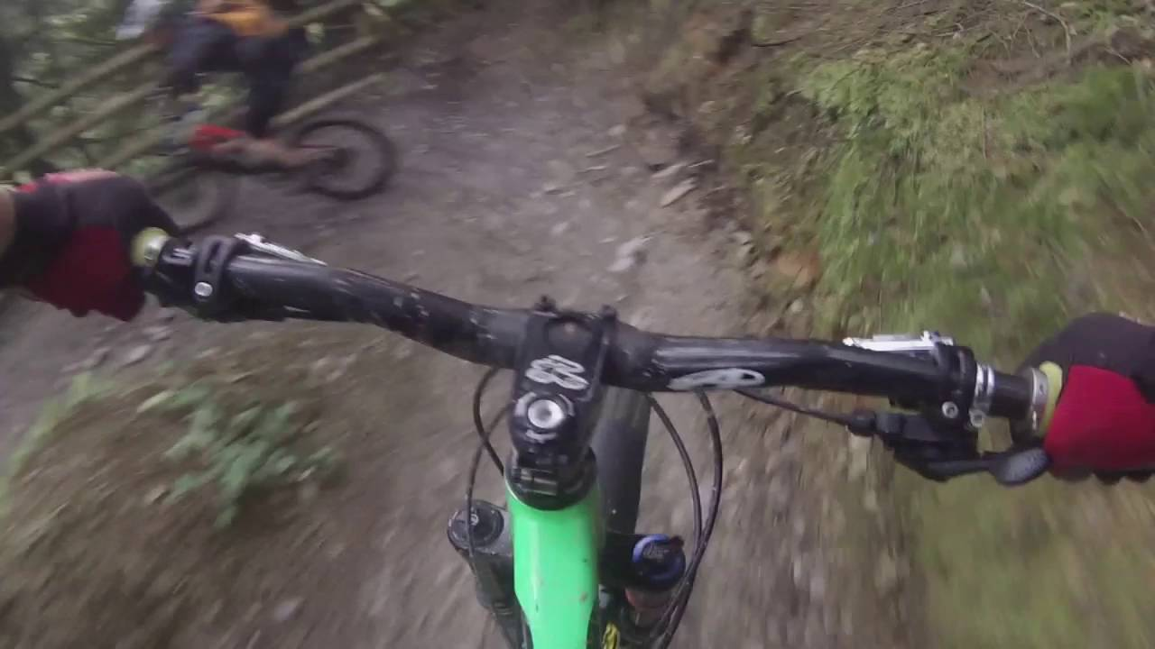 Cardinham woods - Beast of bodmin mountain bike trail