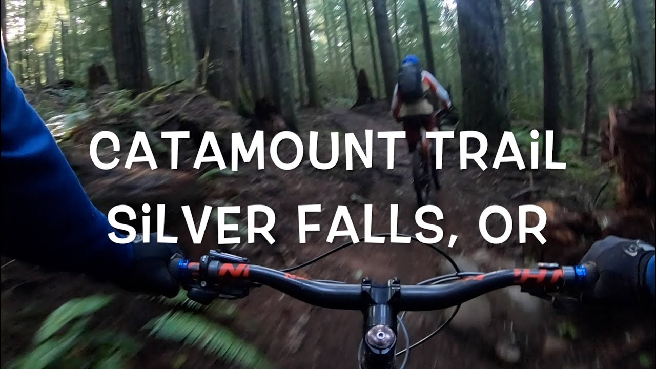 Catamount Trail Mountain Biking - Silver Falls, Oregon