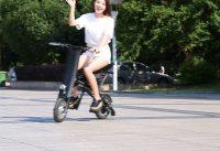 China OEM 2-Wheel Electric Folding Bike Foldaway Bicycle