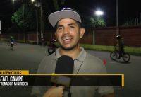 Club Caciques BMX entrena cada noche en pista municipal