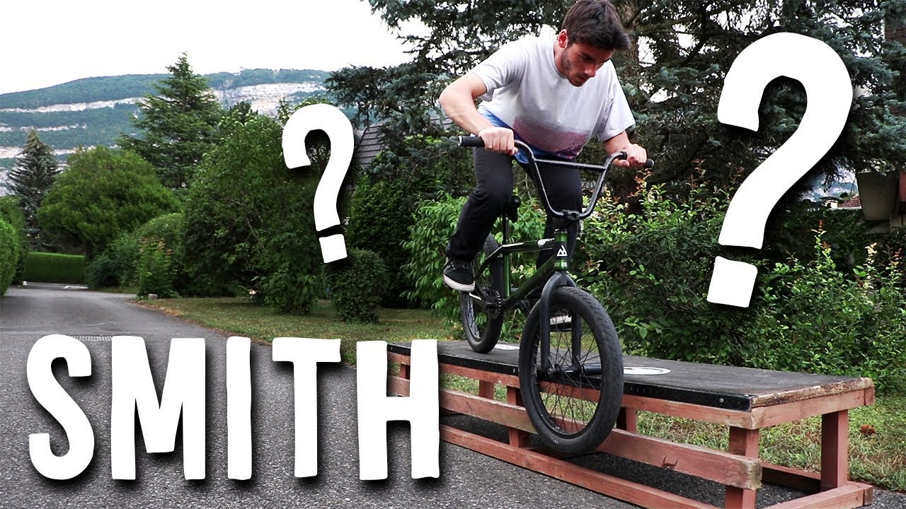 Comment faire un SMITH GRIND EN BMX