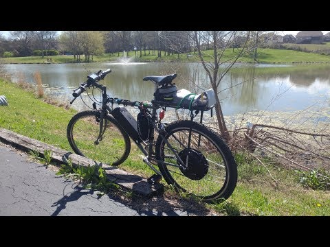 Converting a Mountain Bike into an Electric Bike