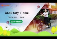 Cyrusher G650 Full Suspension Folding  Step Through City Electric Bike
