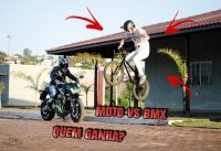 DESAFIO MOTO VS BMX