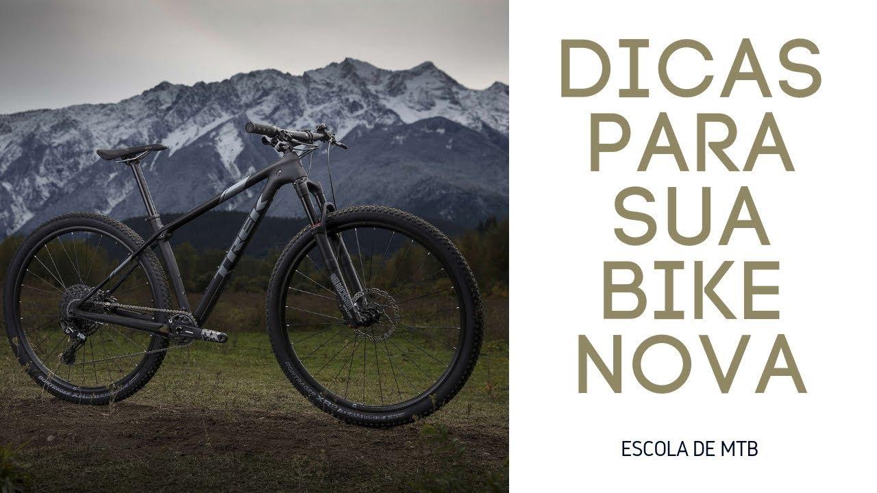 Dicas para a sua mountain bike nova - Dica 12 - 30 dicas para o mountain bike