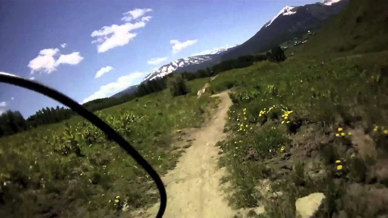 Downhill Mountain Biking in Crested Butte, Colorado