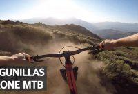 Downhill y Mini Drone grabando Mountain Bike en Lagunillas!