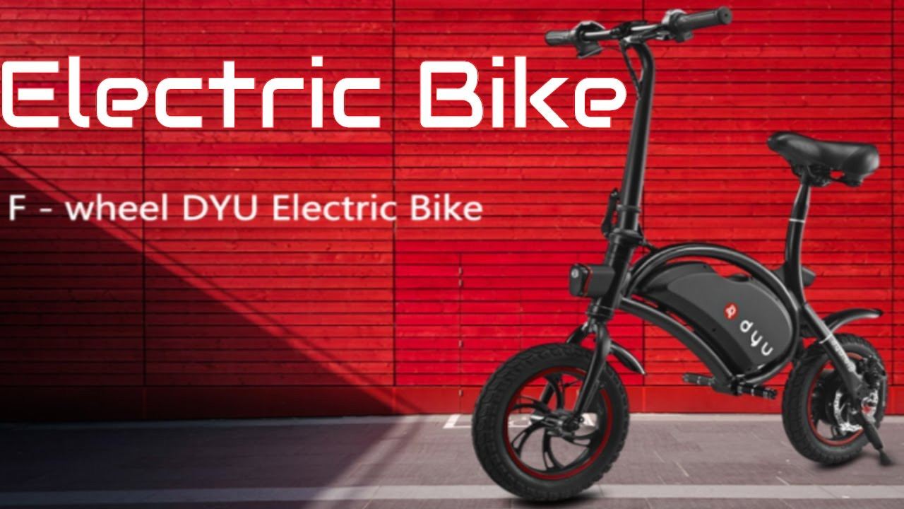 Electric Bike 2017 F - wheel DYU