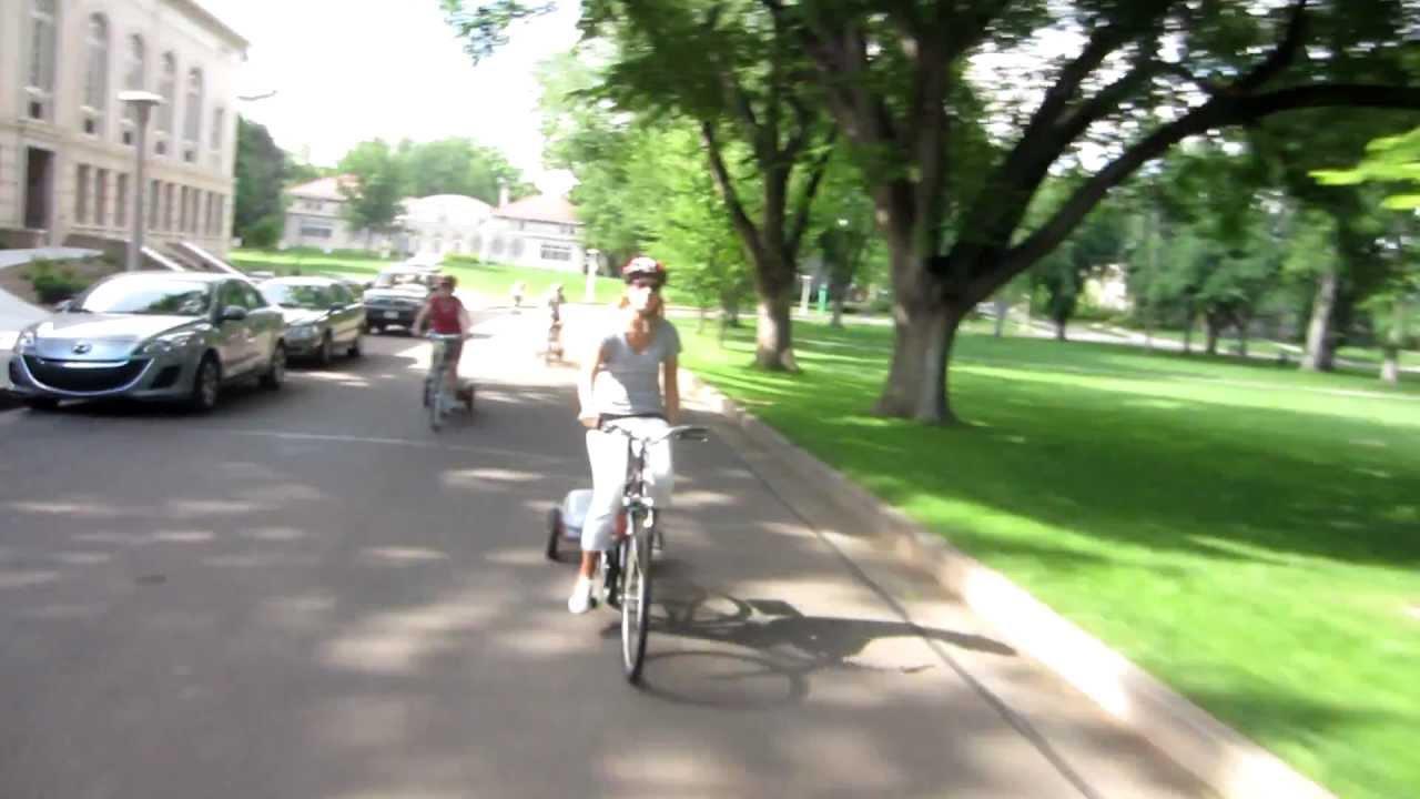 Electric Bike pusher