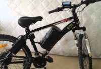Electric Bikes Mountain F8 engine 500w