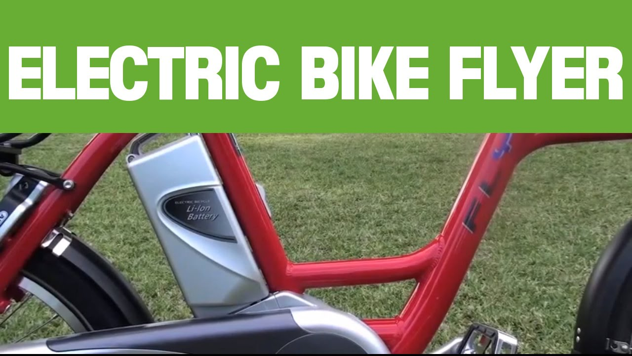 Electric bike Flyer electric Bicycle i:SY (iSY)