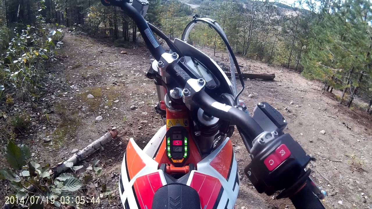 Electric free riding with KTM Freeride E