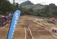 Elite Men Torneo Nacional BMX  2015. Pista BMX Bosque Popular Ciudad de Manizales, Caldas, Colombia