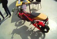 Eltreco V1 Electric Scooter [Sokolniki Velo & Segway Show]