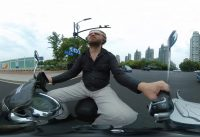 Exploring Pudong, Shanghai by electric scooter (ebike) part 4