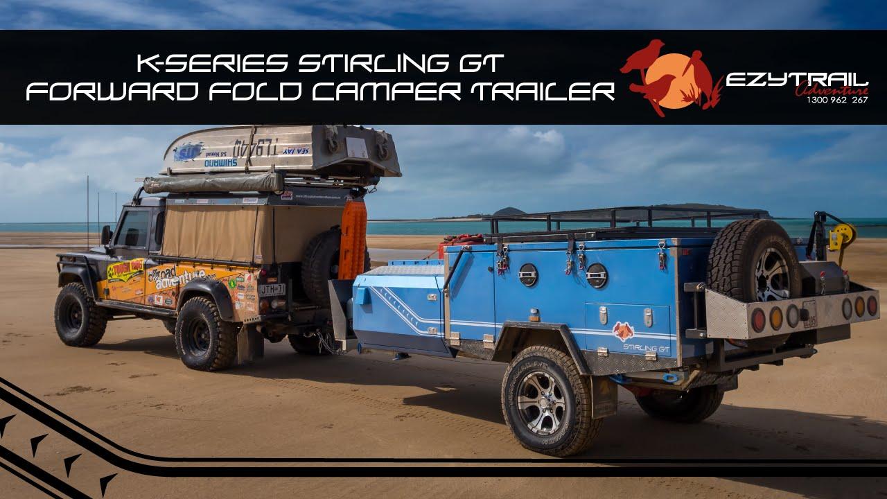Ezytrail Stirling GT Forward Folding Camper Trailer Walk-Through