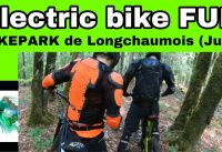 F5 : Electric Bike  Fun : le Bike Park de Longchaumois ( Jura)