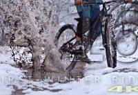 FIRST WINTER RIDE - mountain biking in 4K