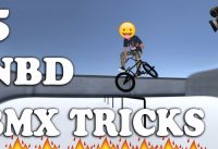 FIVE BMX TRICKS THAT HAVE NEVER BEEN DONE! BMX STREETS!