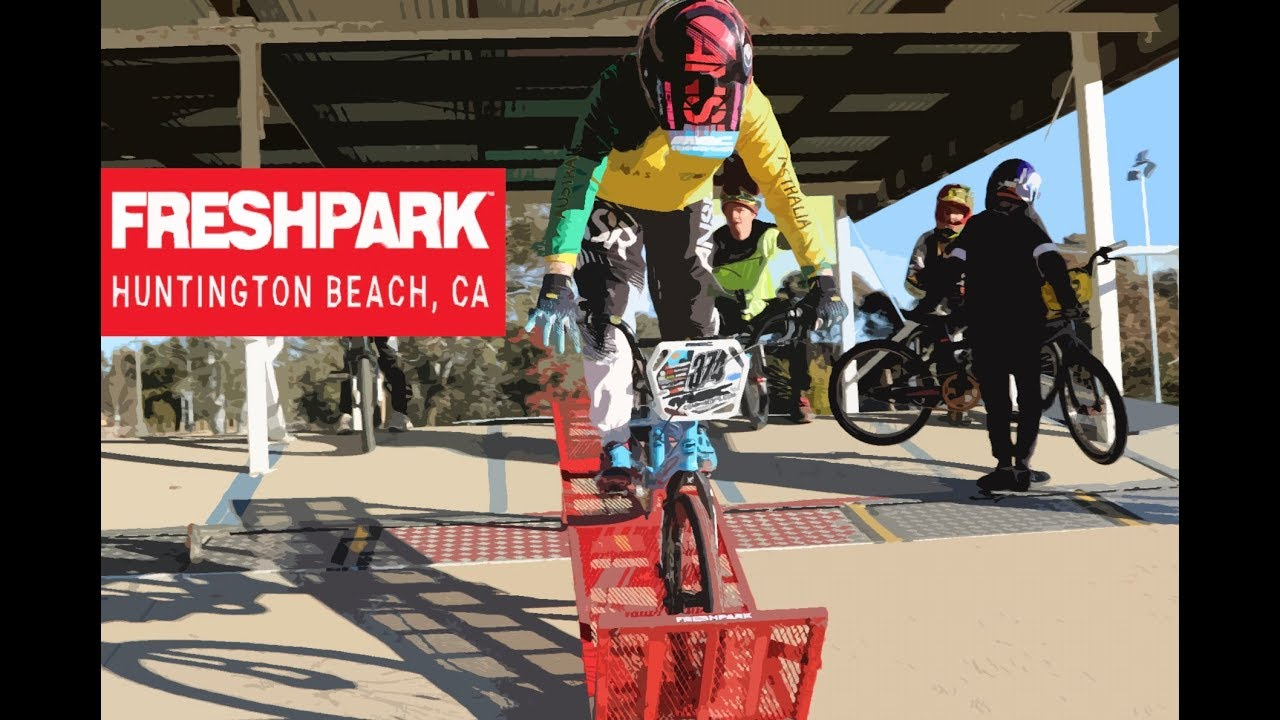 FRESHPARK GateStart Build & First Ride (Stumpy BMX Gate)
