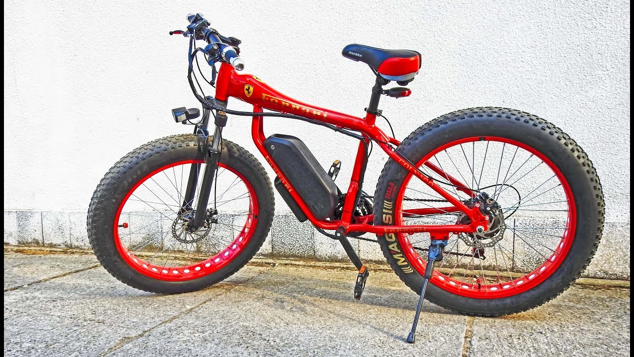 Ferrari Electric Fat Bike in Serbia  04  04 2019