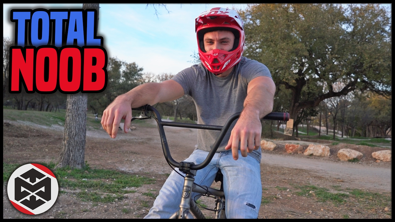 First Time at the BMX Park