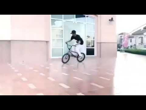 First stage BMX freestyle