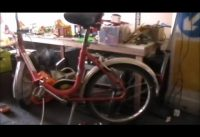 Fixing German folding cycle.