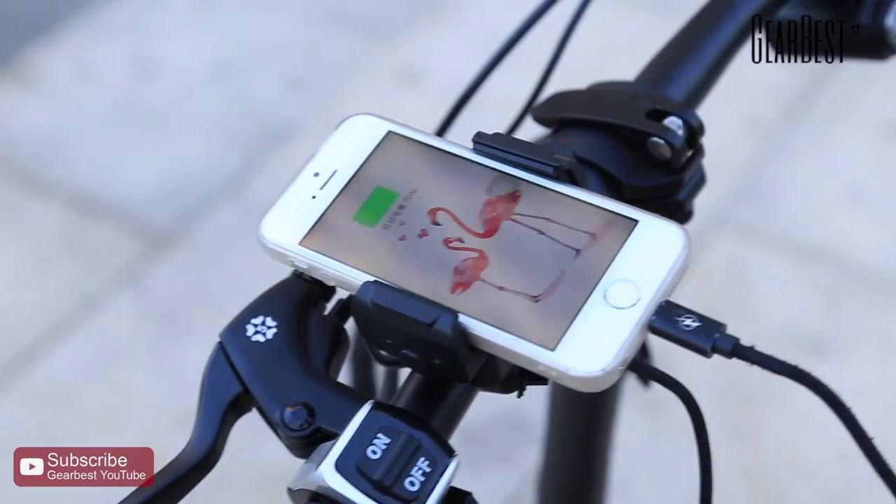 Folding Electric Bike FIIDO D1 GearBest