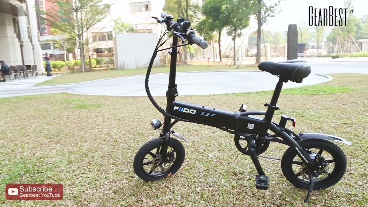 Folding Electric Bike FIIDO D1