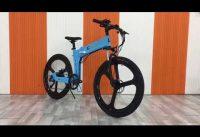 Folding electric bikes, Long range ebike, boat owner ebike, RVer ebike, student ebike