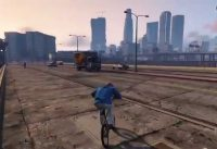 GTAV Tutorial Bmx Basico 2 (Handle-grind, ass-slide)