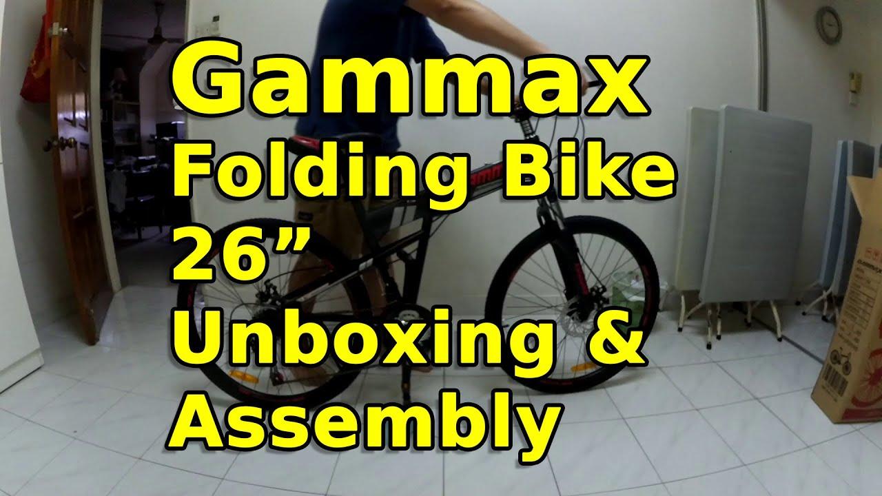 Gammax 26 inch Folding Bike