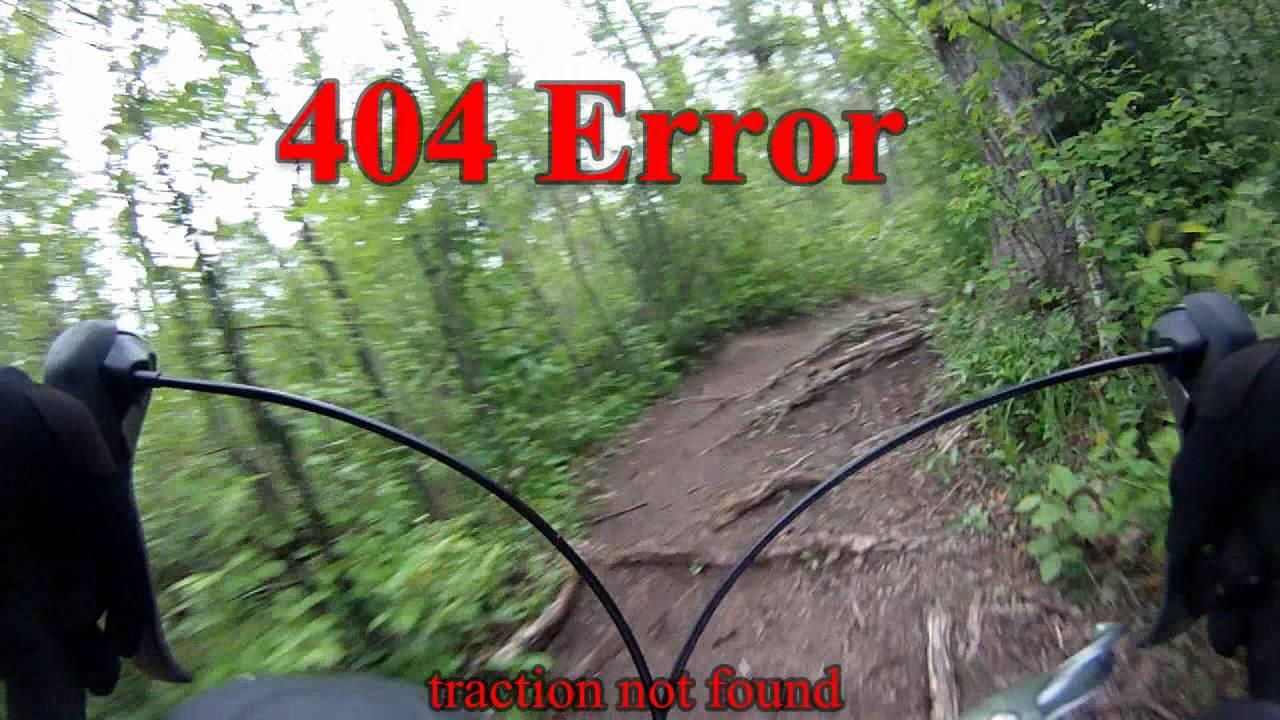 GoPro FPS mountain bike race for Edmonton Corporate Challenge. Alberta Canada.