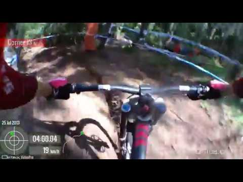 Greg Minnaar Down Hill Mountain Bike Championship