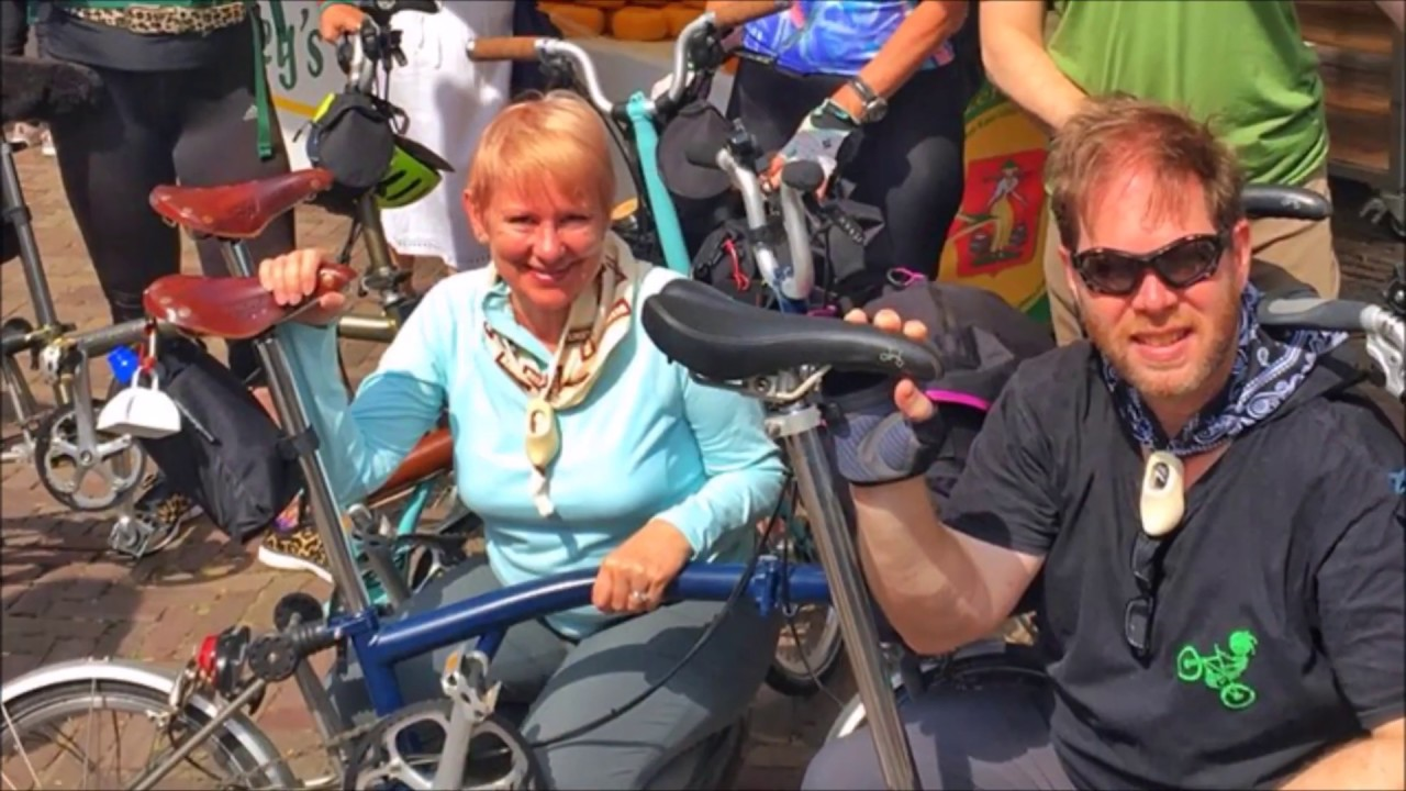 Guided Bicycle Tour: London, Holland & Belgium Via Brompton Folding Bikes