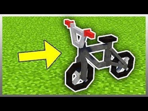 HOW TO GET A WORKING  BMX BIKE in minecraft (NO MODS}