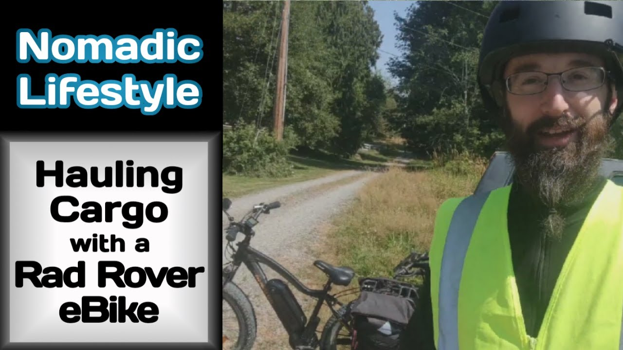 Hauling Cargo with a Rad Rover eBike