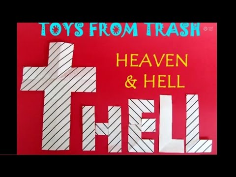 Heaven and Hell | Telugu | Amazing Paper Trick