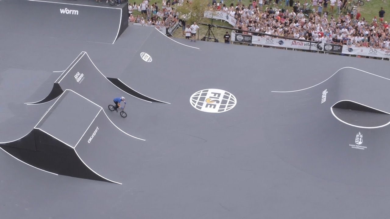 How FISE Builds a BMX Freestyle Park for the World's Best Bikers